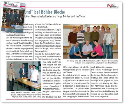 Ausgabe 06/07 Mürz macht's
