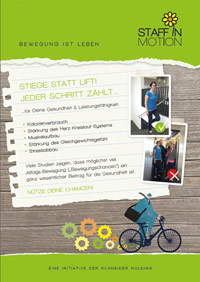 PDF: Staff in Motion Newsletter Flyer