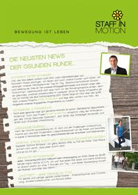 PDF: Staff in Motion Newsletter 1