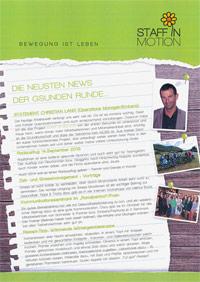 PDF: Staff in Motion Newsletter 2